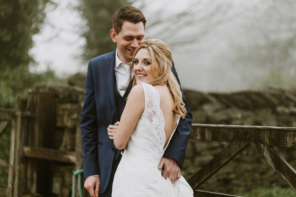 Relaxed wedding photography Saddleworth