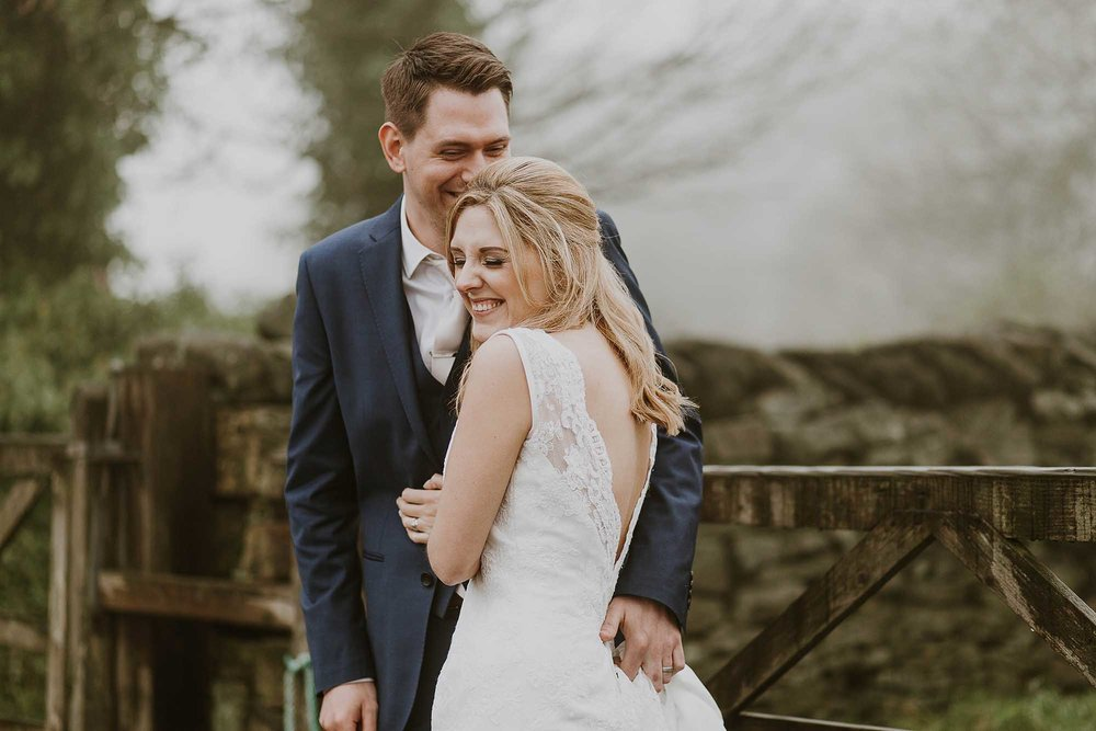 natural wedding portraits Saddleworth
