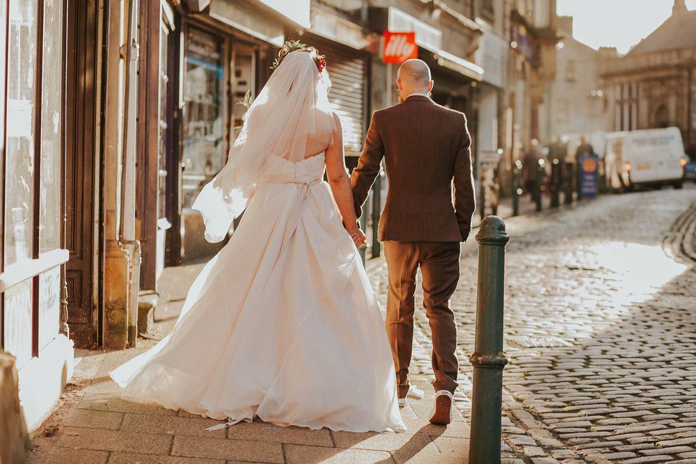 wedding photography Todmorden Town Hall