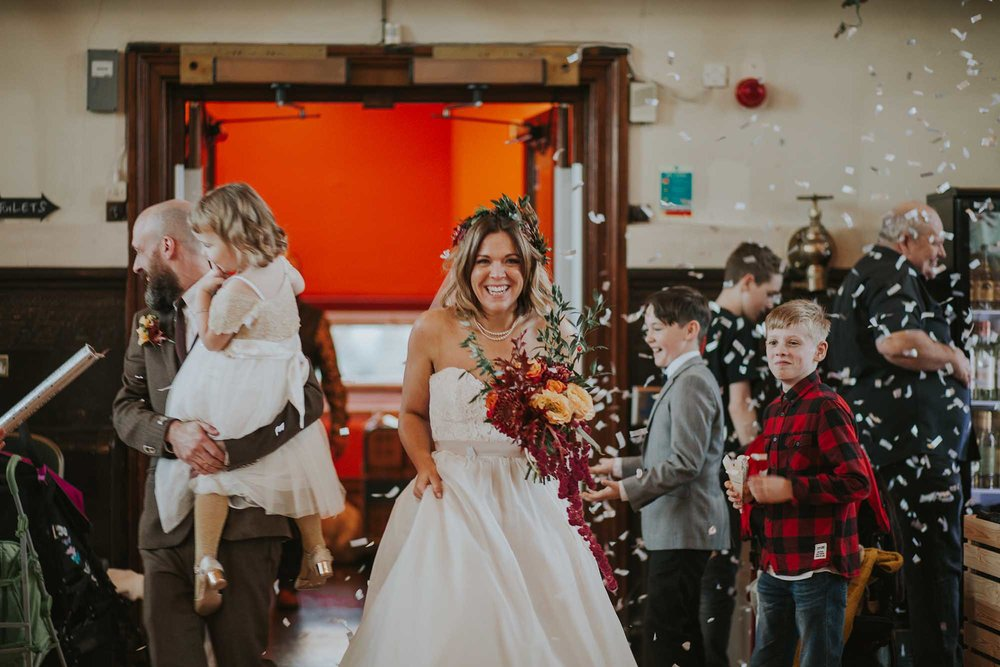 wedding photographer in Todmorden