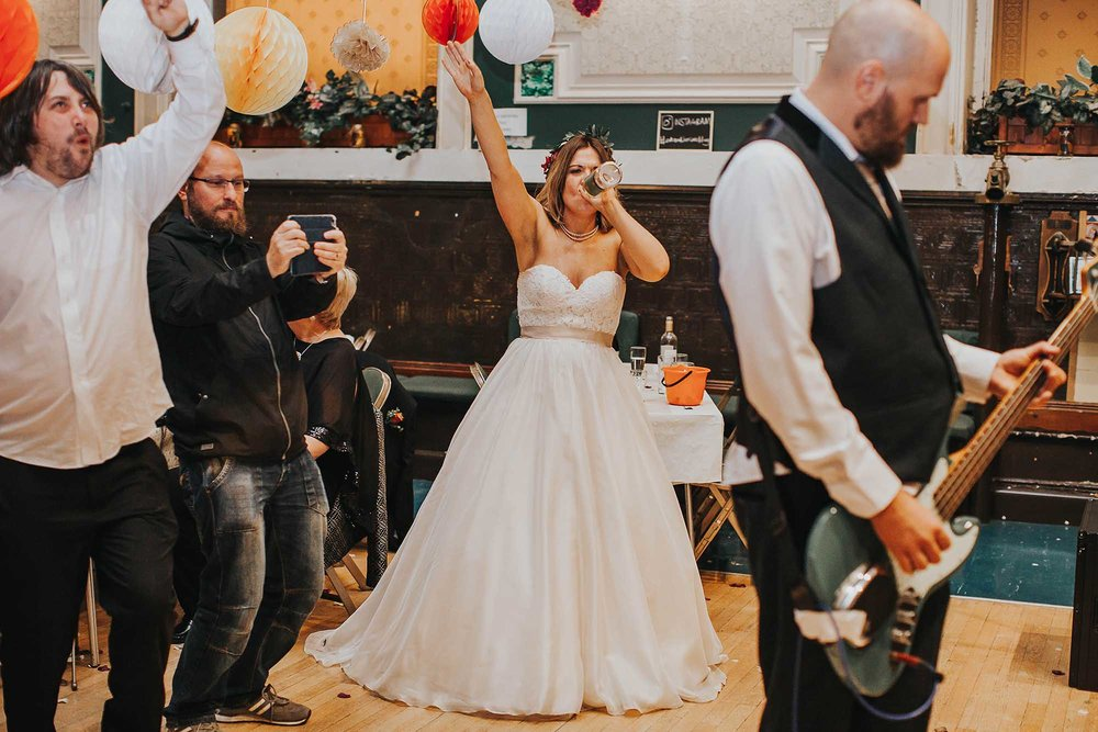 Todmorden wedding