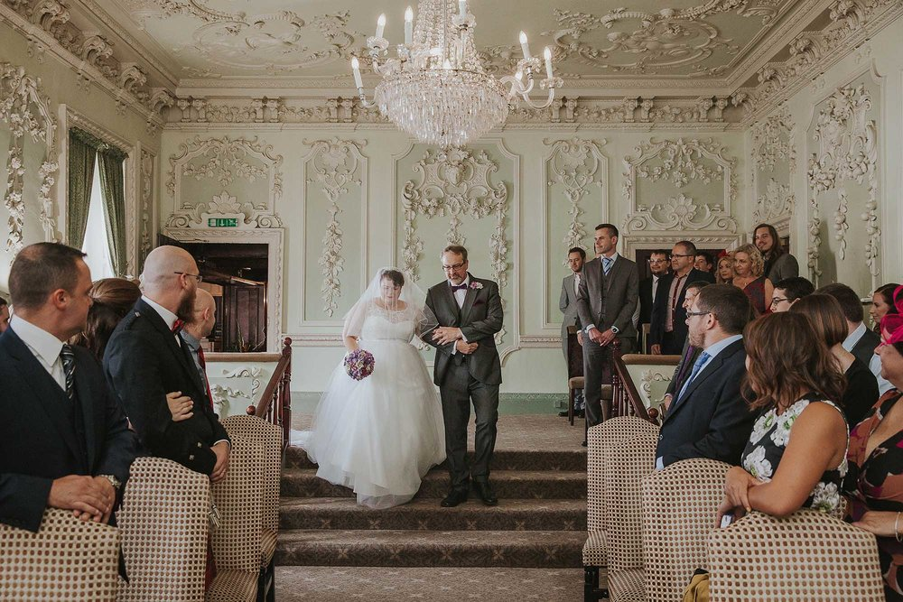 the ceremony room at The Bridge Hotel & Spa Wetherby
