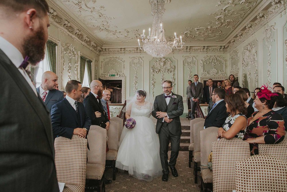 wedding ceremony at The Bridge Hotel & Spa Wetherby