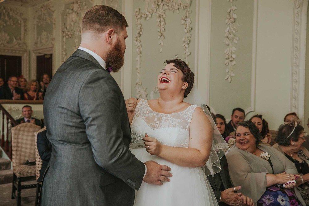 geeky wedding photographer in Yorkshire