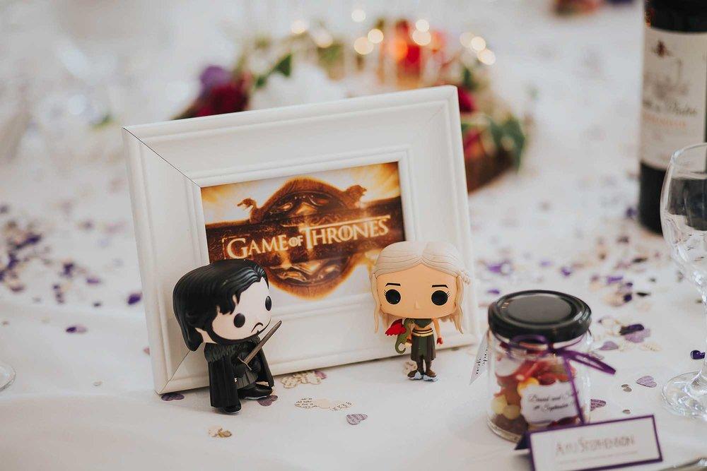 Game of Thrones wedding ideas