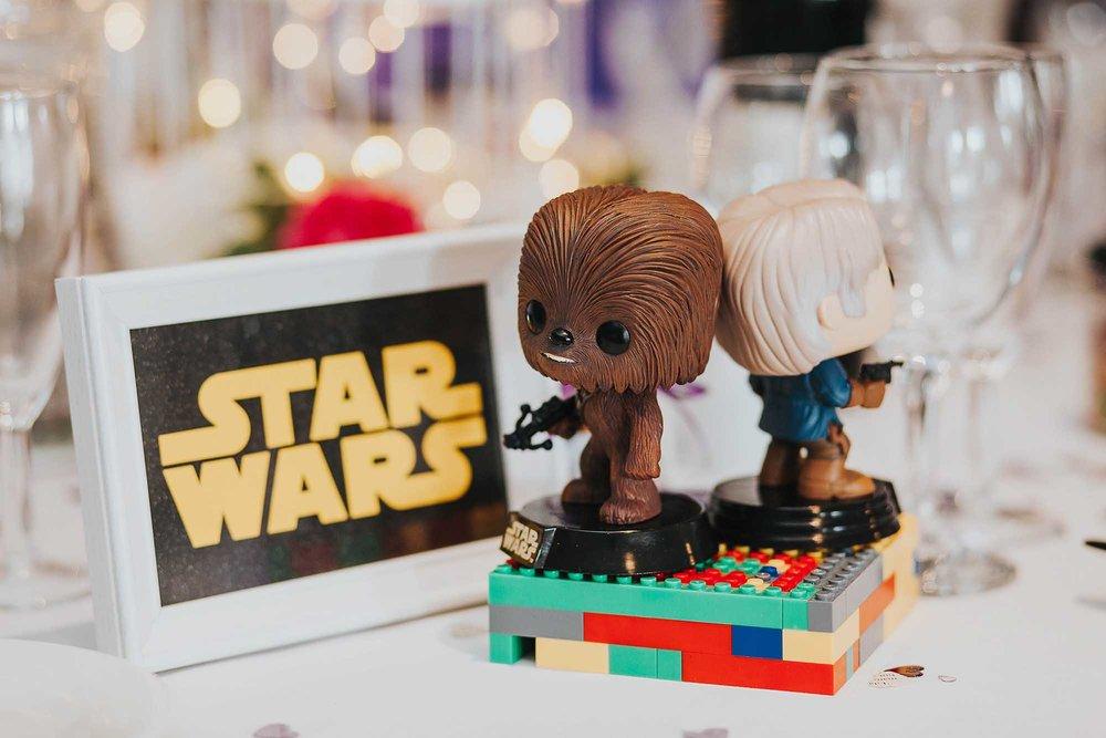 geeky Star Wars wedding in Yorkshire