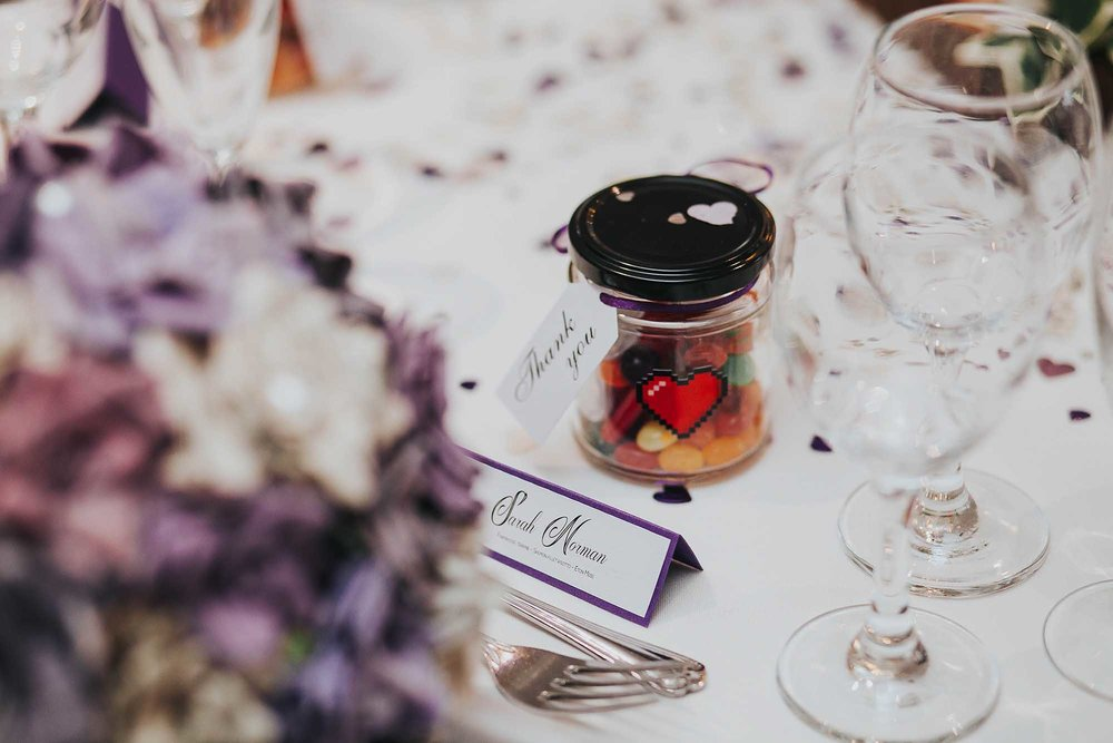 1-up heart wedding favour