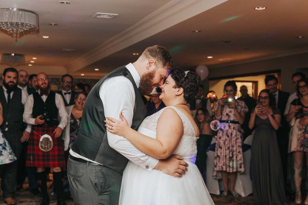 first dance at The Bridge Hotel & Spa