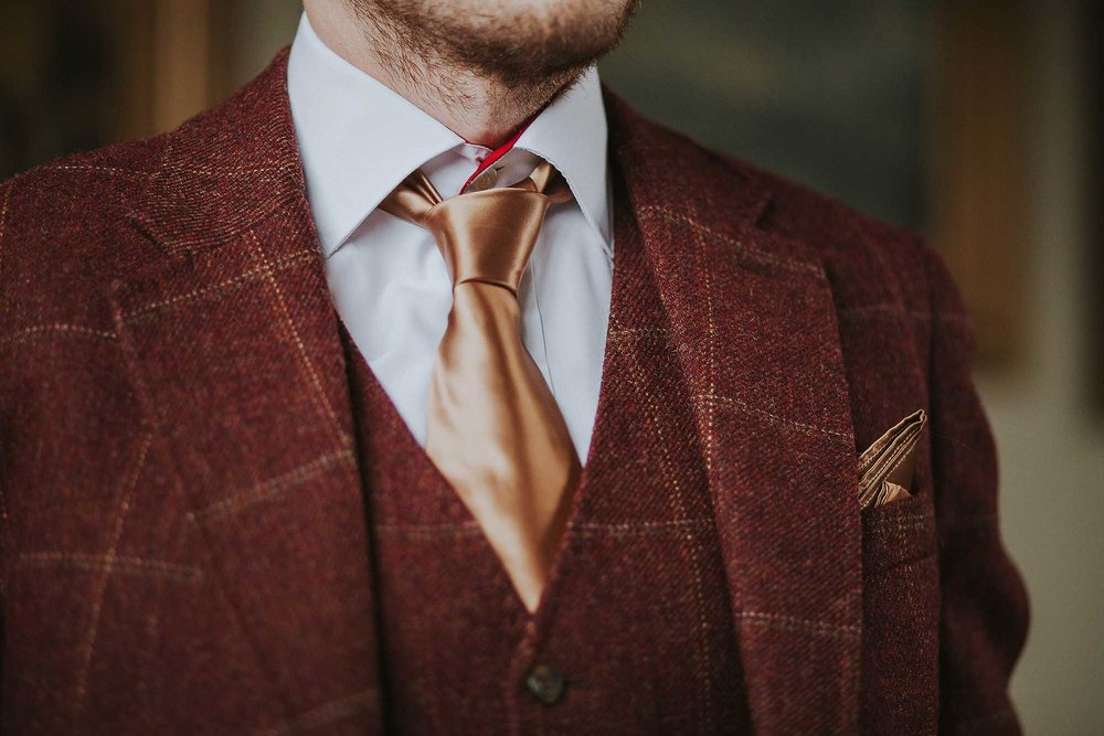 Chrichton bespoke wedding suit