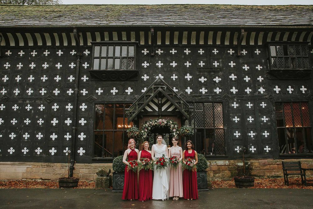 Samlesbury Hall Preston wedding