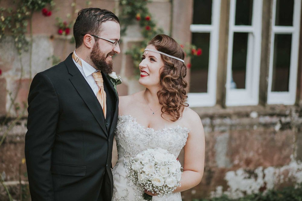 Browsholme Hall wedding day