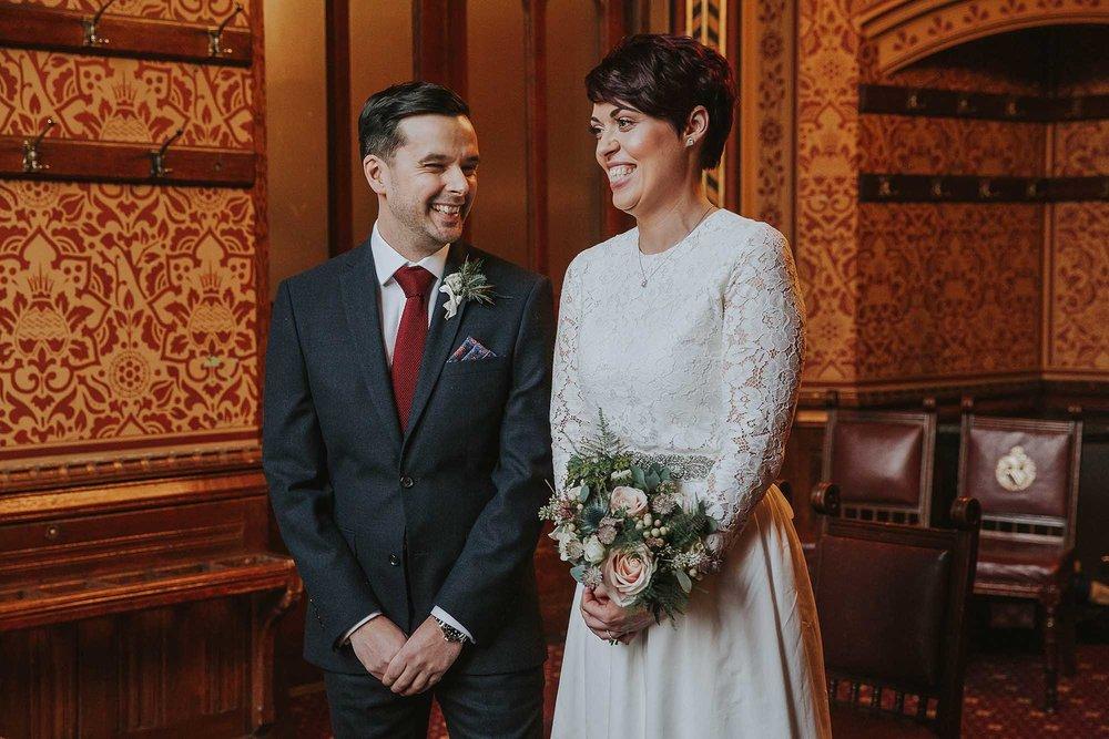 Manchester wedding ceremony