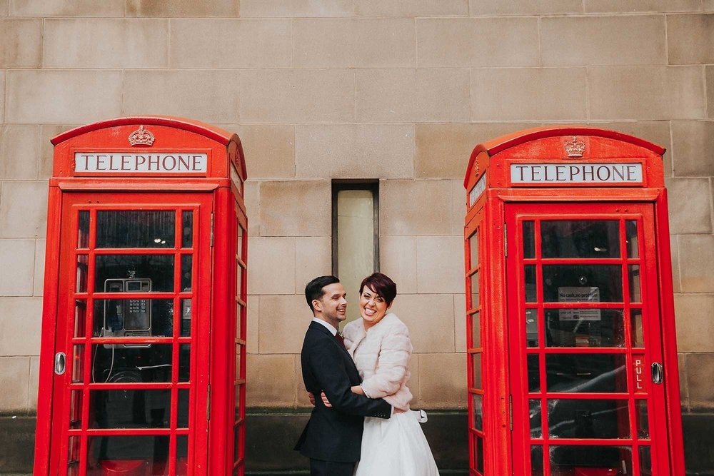 quirky Manchester wedding