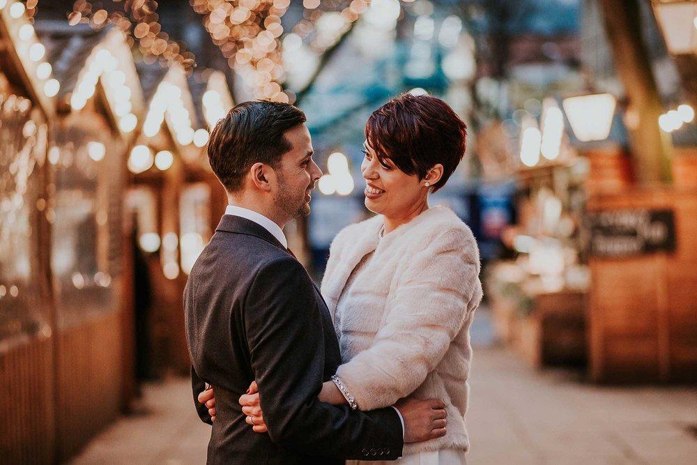 Winter wedding Manchester