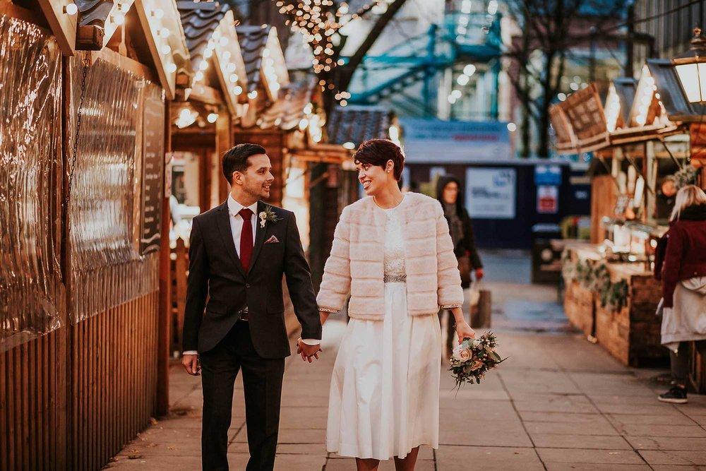 Winter wedding ideas Manchester