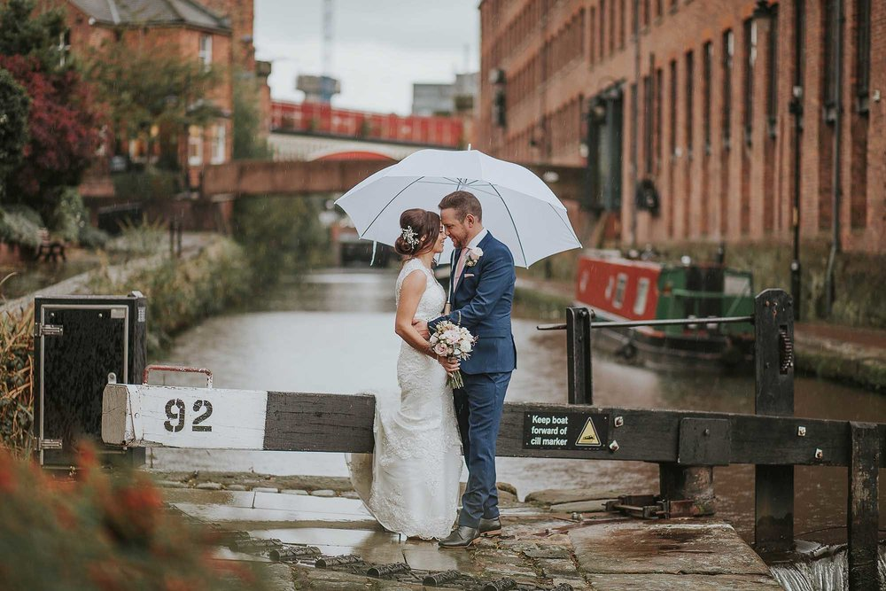 The Castlefield Rooms wedding photos
