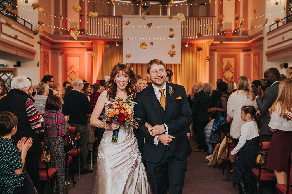 Sheffield botanical gardens wedding ceremony