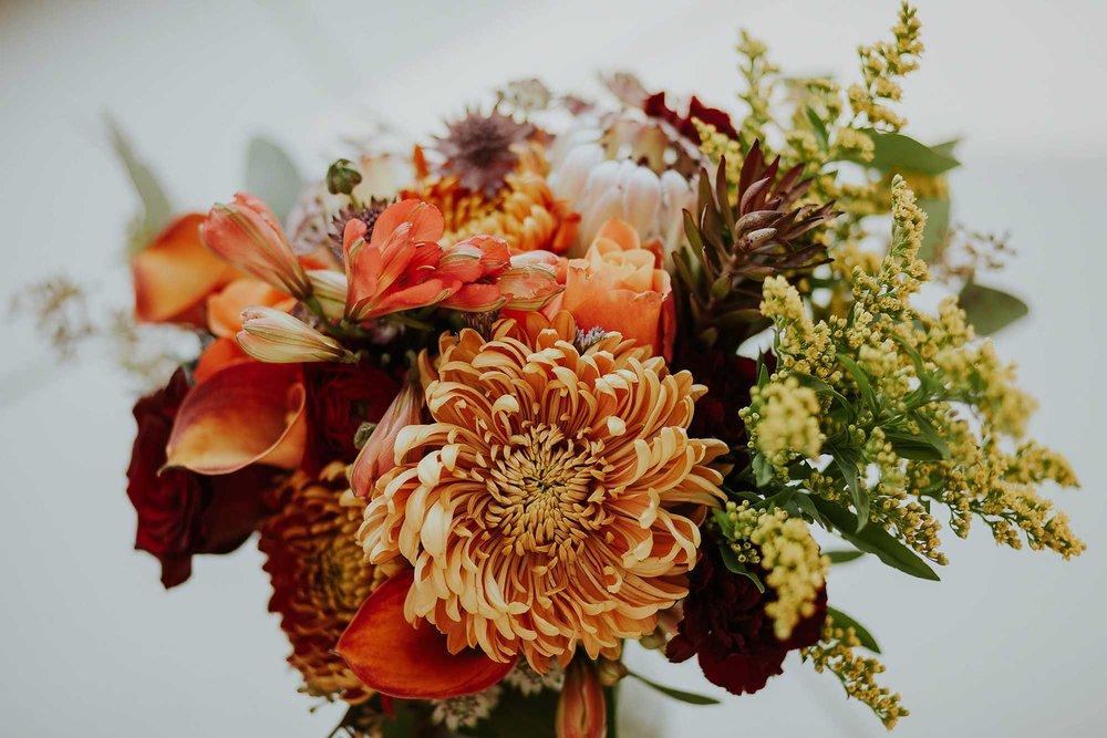 Elizabeth Copeland bridal flowers