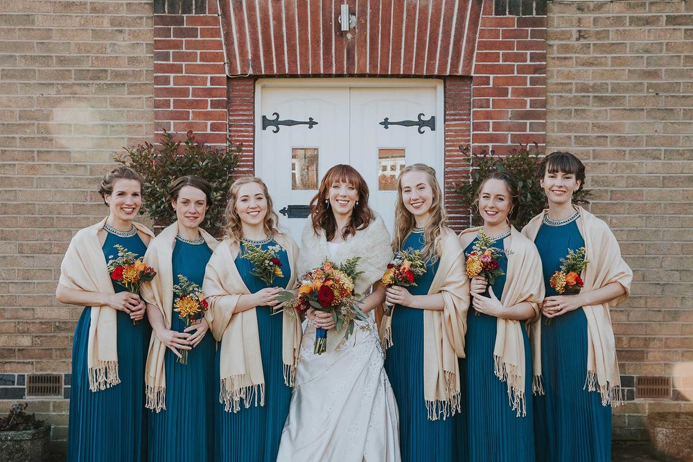 Yorkshire bridesmaids Sheffield