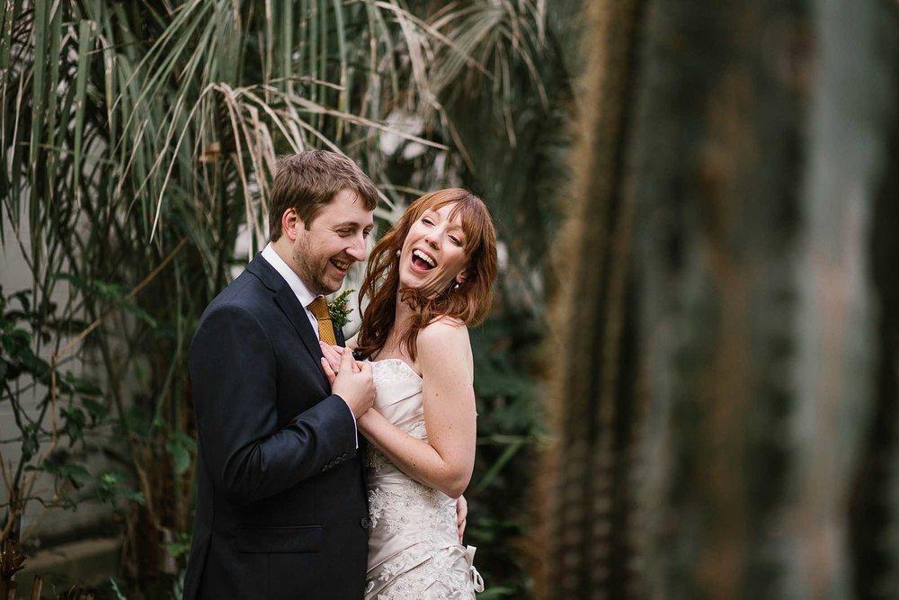 Sheffield Botanical Gardens wedding photos