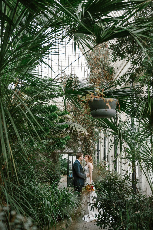 inside Sheffield Botanical Gardens