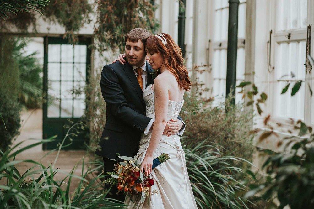 Sheffield Botanical Gardens wedding photographer