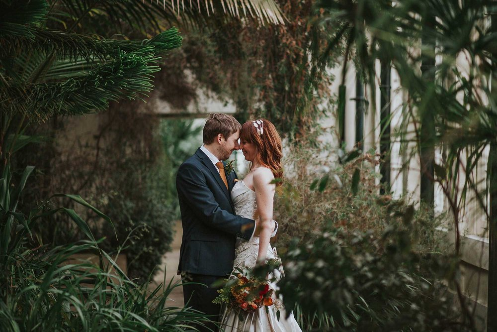 Sheffield wedding at the Botanical Gardens