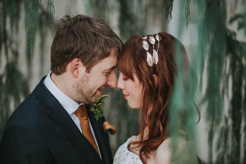 Sheffield Botanical Gardens wedding reception