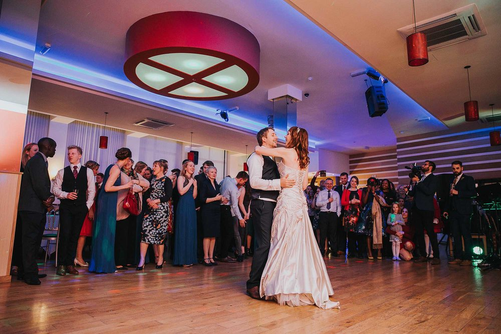 City Limits Dance Studio Sheffield wedding reception