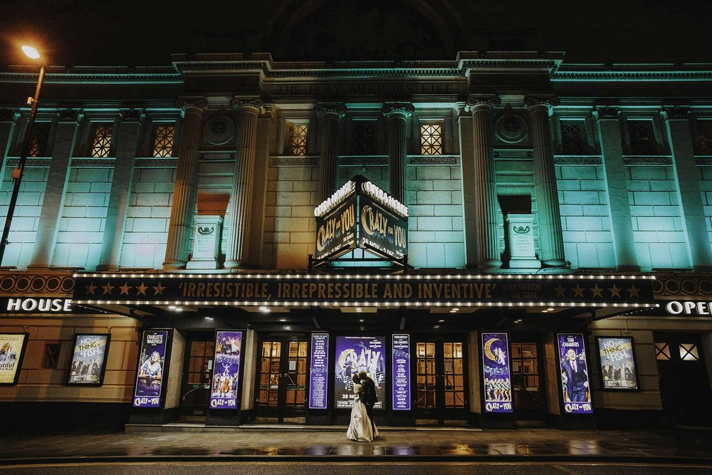 Manchester winter wedding photography