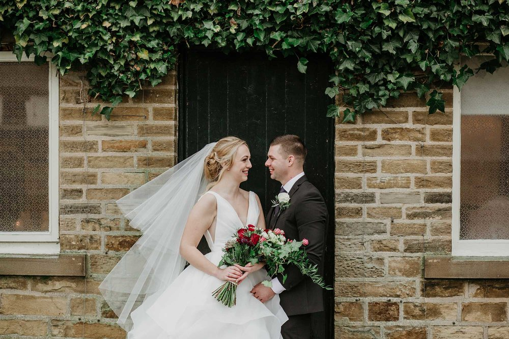 wedding photographer at Holdsworth House West Yorkshire
