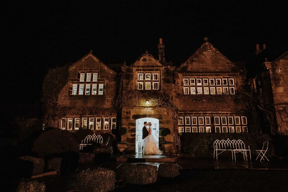 winter wedding at Holdsworth House
