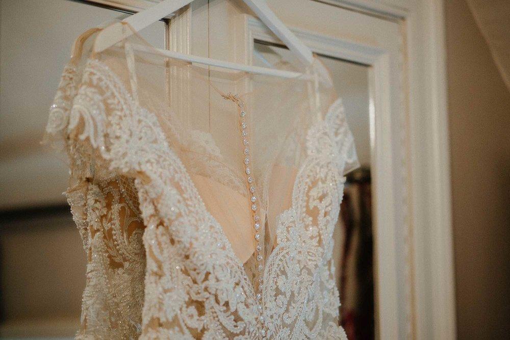 bride's dress The Black Swan Helmsley