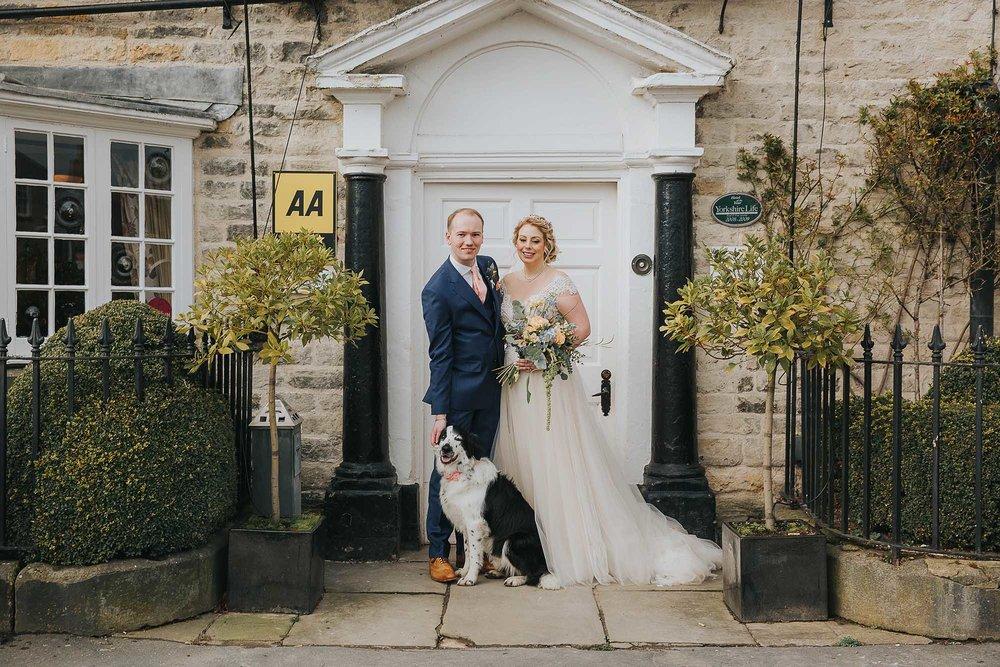 The Black Swan Helmsley dog friendly weddings