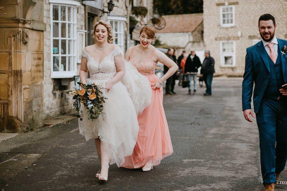 natural wedding photography North Yorkshire