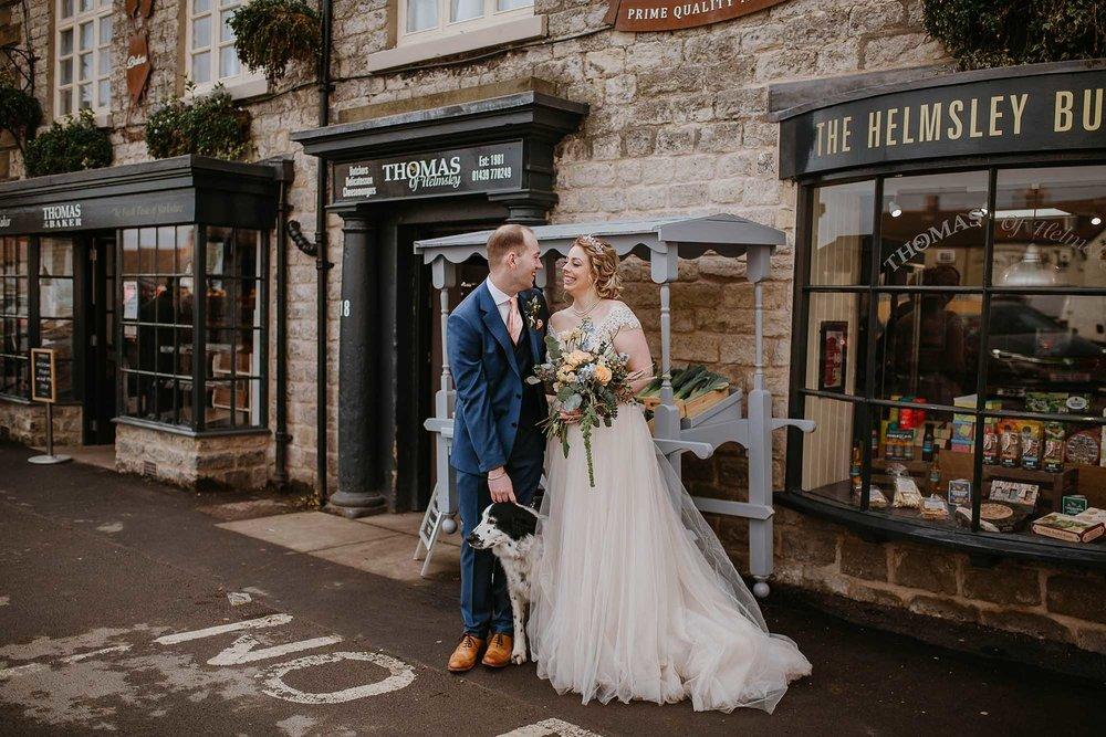 wedding photographs in Helmsley