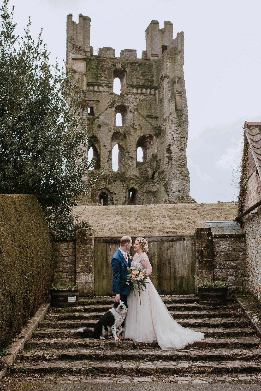 Helmsley Castle wedding photography