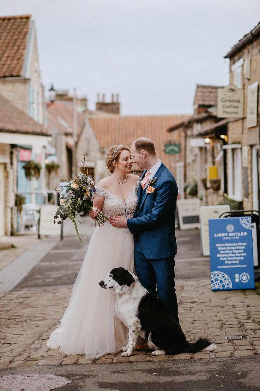 dog friendly wedding Yorkshire