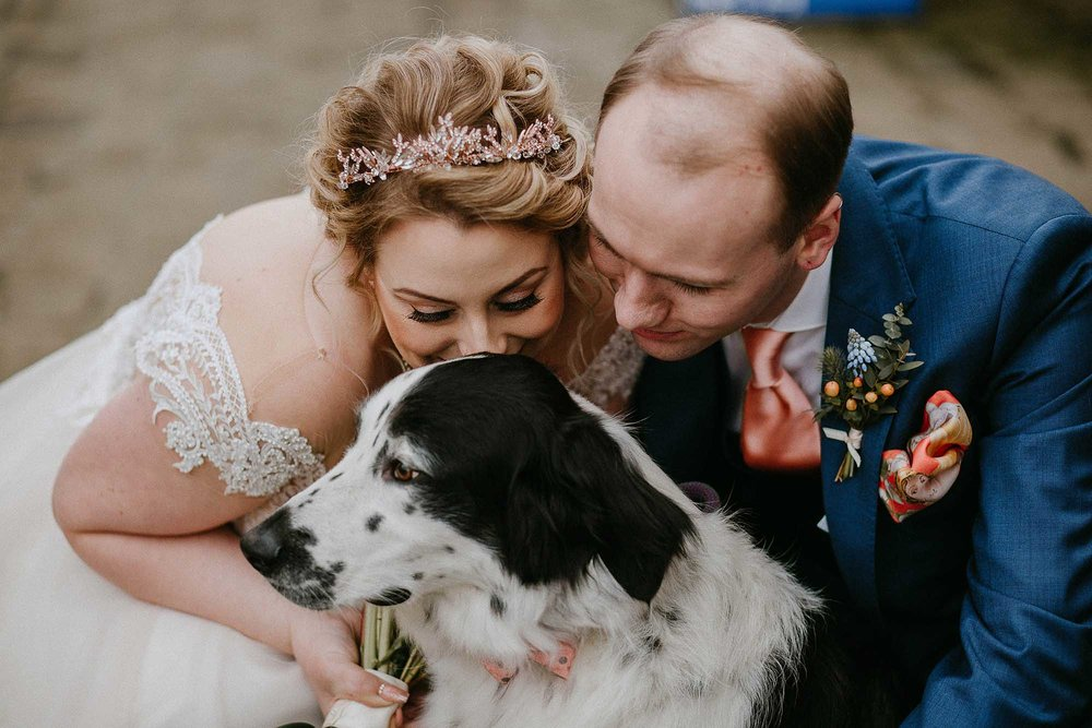 dogs at weddings in Yorkshire