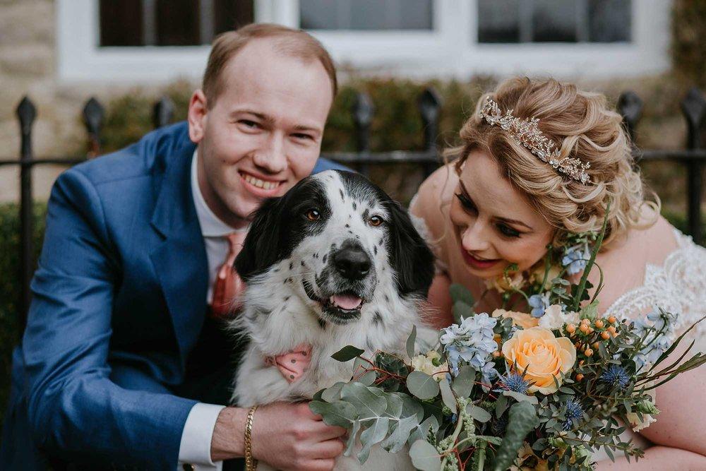 dog friendly wedding West Yorkshire