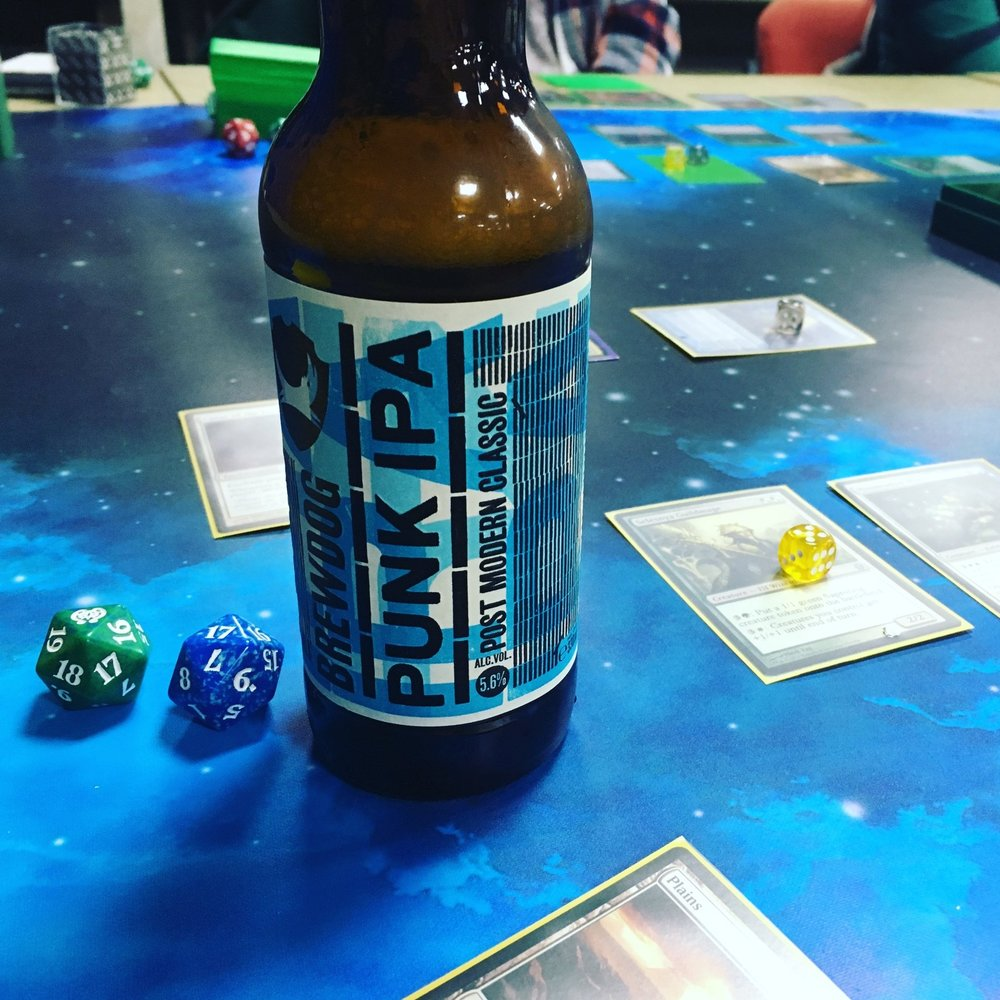 IPA & games - my fave things!