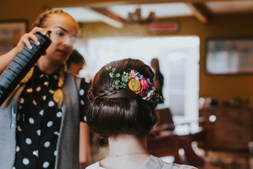 Nala and Knot wedding hair