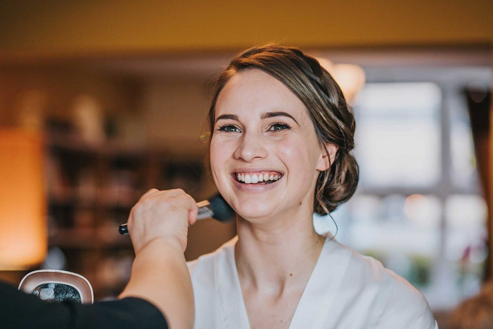 Nala & Knot wedding makeup