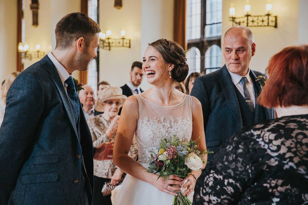 weddings at Bolton School hall