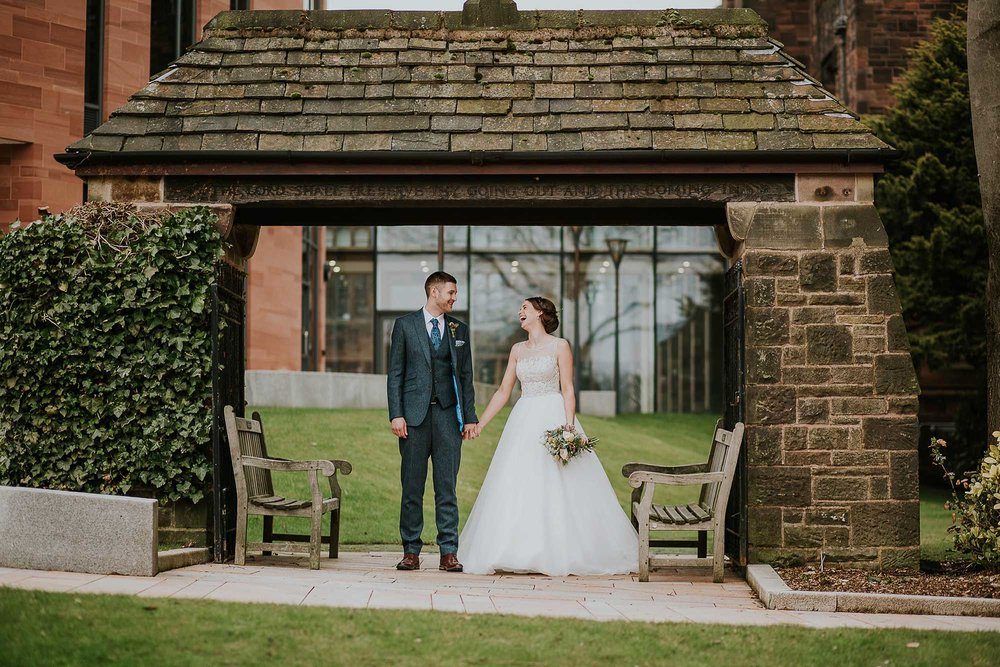 Bolton School wedding photography
