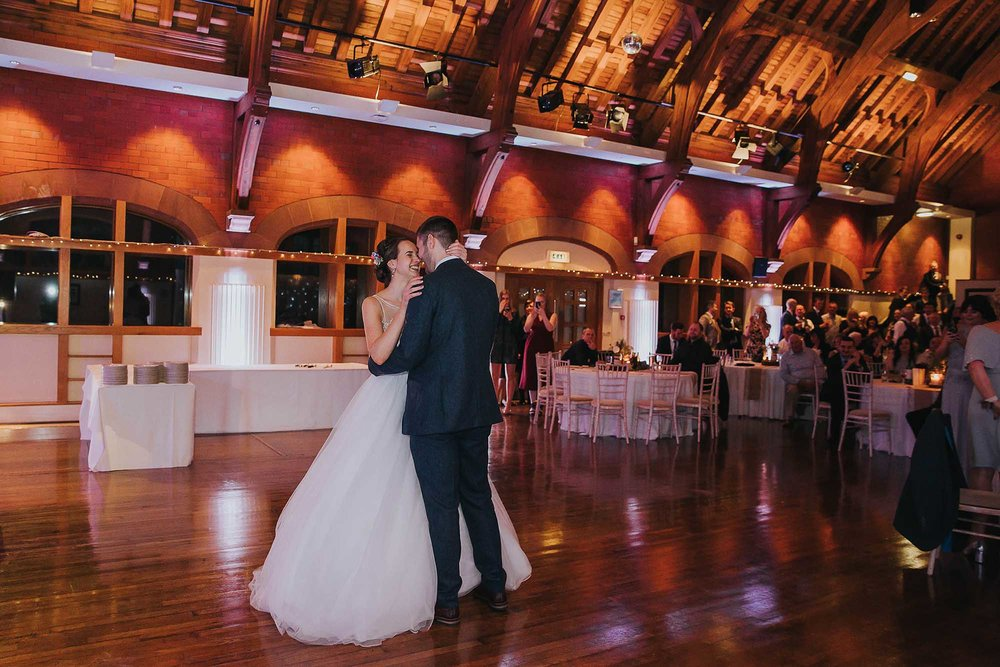 first dance at Bolton School