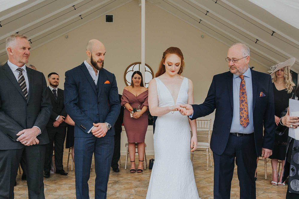 Combermere Abbey wedding ceremony