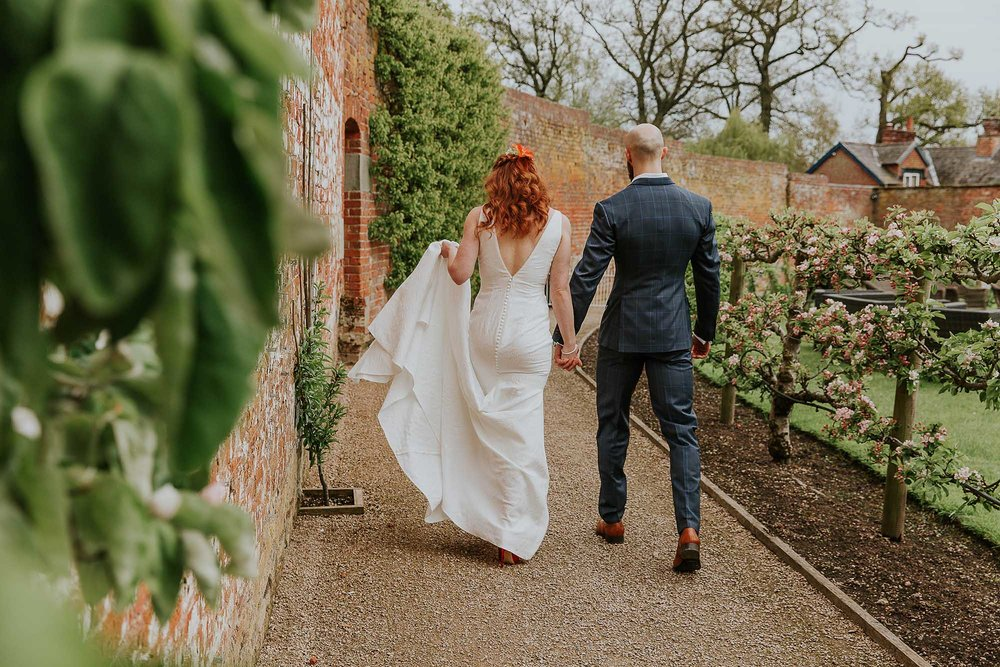 Combermere Abbey natural wedding photography