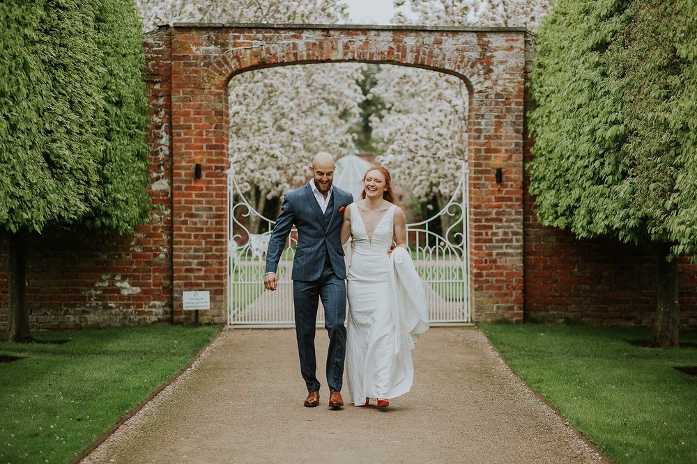 Combermere Abbey natural wedding photographs