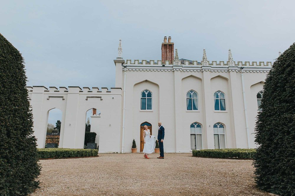 Combermere Abbey Cheshire wedding venue